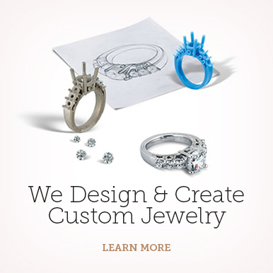 We create custom jewelry at Barnes Jewelers