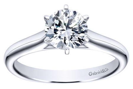 solitaire engagement rings Oconomowoc