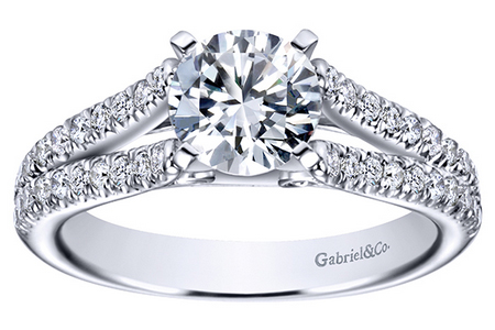 split shank engagement rings Oconomowoc
