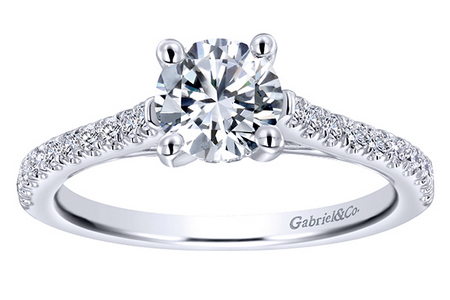 straight engagement rings Oconomowoc